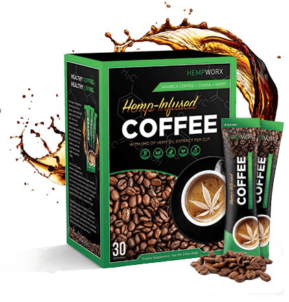 Hempworx New Products Hemp infused Coffee